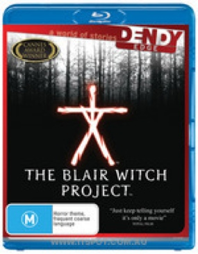 The Blair Witch Project - Blu-ray cover