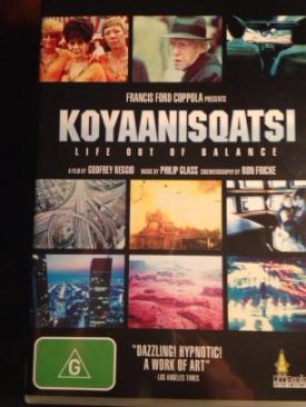 Koyaanisqatsi - DVD cover