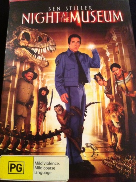 Night at the Museum - DVD cover