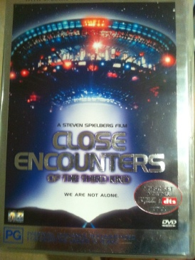 Close Encounters of the Third Kind - DVD cover