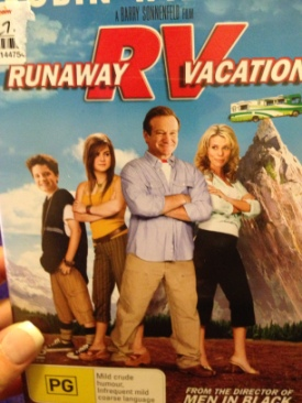 RV: Runaway Vacation - DVD cover