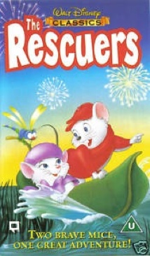 The Rescuers - VHS cover