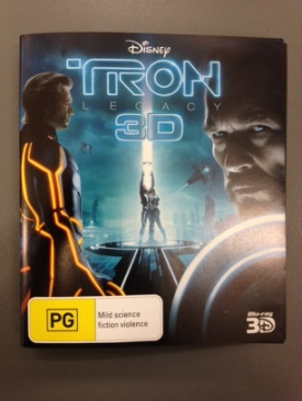 Tron Legacy - Blu-ray cover