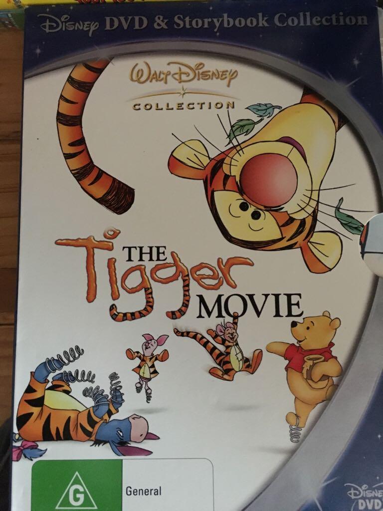 The Tigger Movie -  cover
