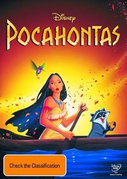Pocahontas - DVD cover