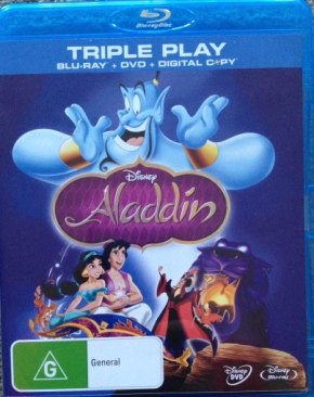 Aladdin - Blu-ray cover