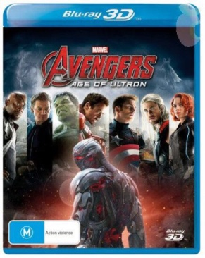 Avengers : Age Of Ultron - Blu-ray cover