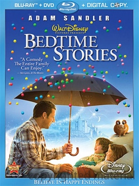 Bedtime Stories - Blu-ray cover
