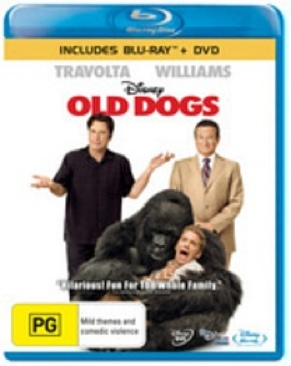 Old Dogs - Blu-ray cover
