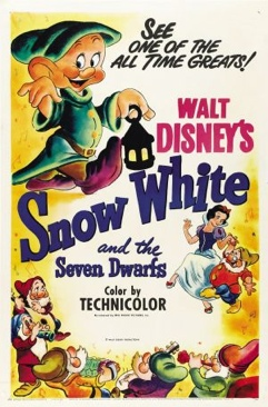 Snow White and the Seven Dwarfs - DVD cover