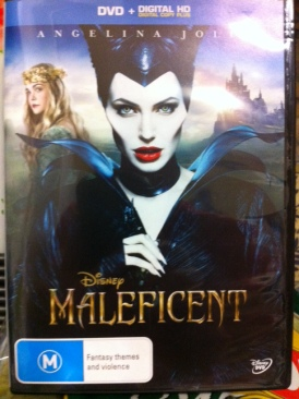 Maleficent - DVD cover