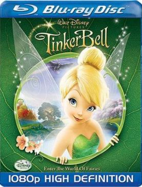Tinker Bell - Blu-ray cover