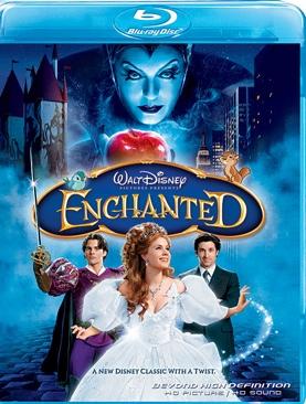 Enchanted - Blu-ray cover