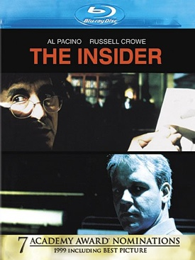 The Insider - Blu-ray cover