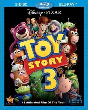 Toy Story 3 - Blu-ray cover