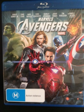 The Avengers - Blu-ray cover