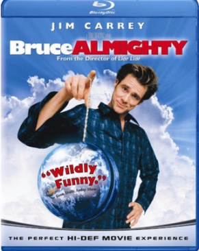 Bruce Almighty - Blu-ray cover