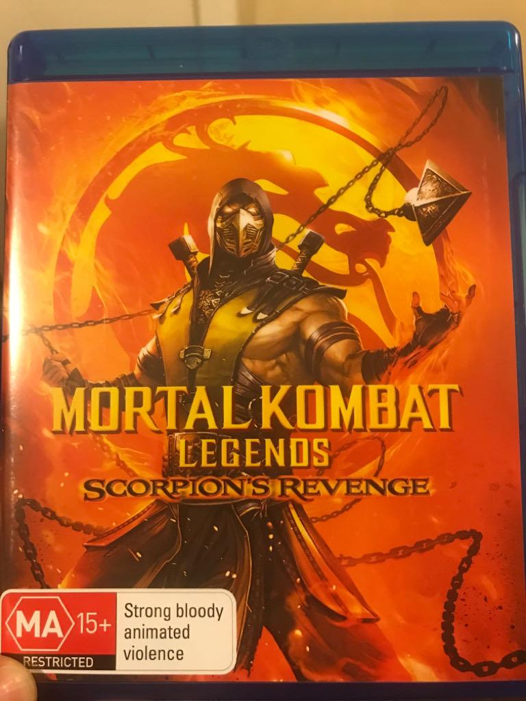 Mortal Kombat Legends: Scorpion's Revenge -  cover