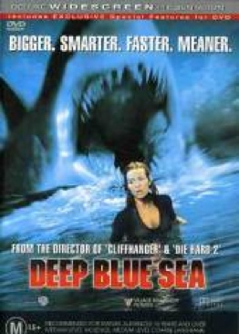 Deep Blue Sea - DVD cover