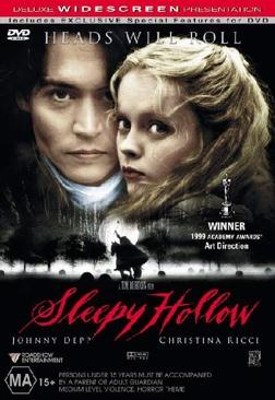 Sleepy Hollow - DVD cover