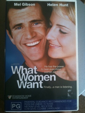 What Women Want - VHS cover