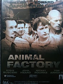 Animal Factory - Video CD cover