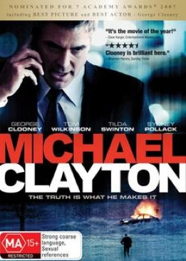 Michael Clayton - DVD cover