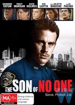 The Son Of No One - DVD cover