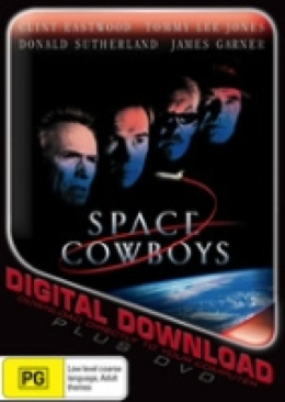 Space Cowboys - DVD cover