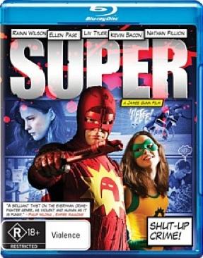Super - Blu-ray cover