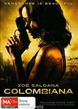 Colombiana - DVD cover