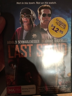 Last Stand - Blu-ray cover