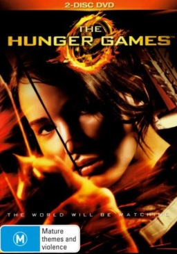 The Hunger Games 1 - DVD cover