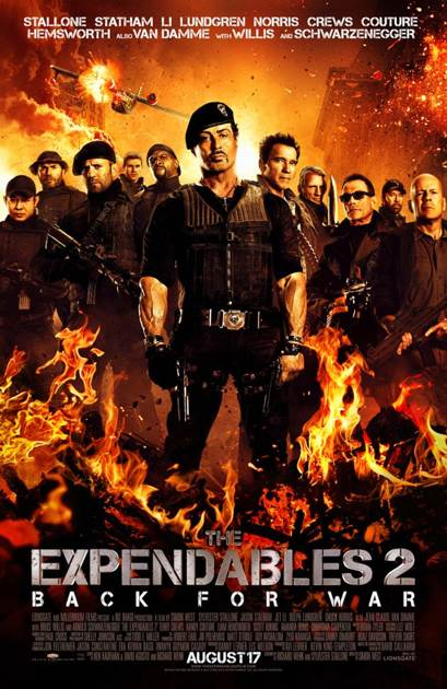 Expendables 2 -  cover