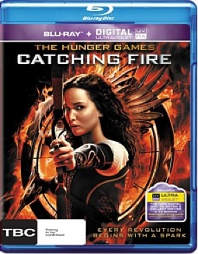 The Hunger Games: Catching Fire (2) - Blu-ray cover