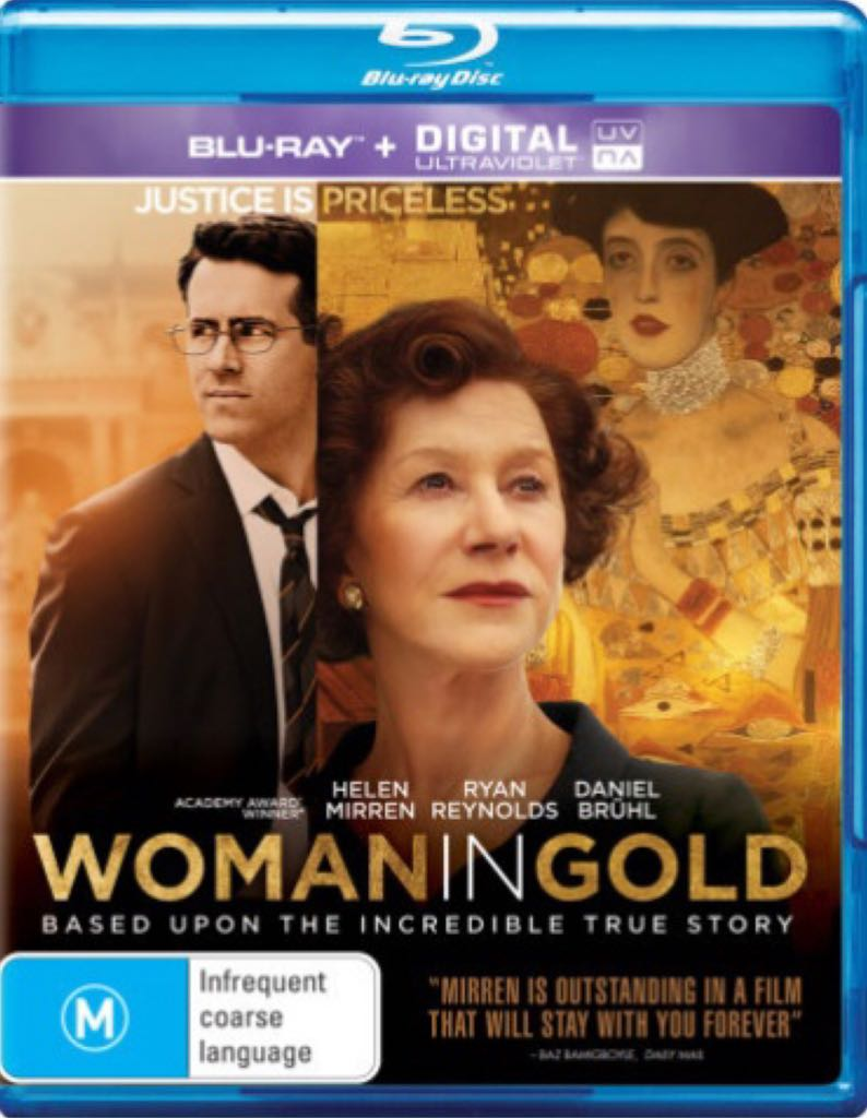 Woman In Gold -  cover