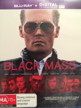 Black Mass - Blu-ray cover