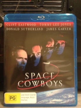 Space Cowboys - Blu-ray cover