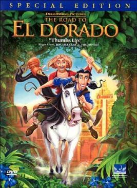 Road to El Dorado - CED cover