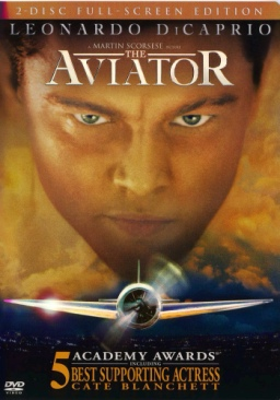 The Aviator - Blu-ray cover