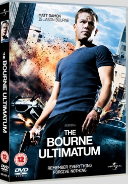 The Bourne Ultimatum - DVD cover