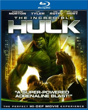 The Incredible Hulk - Blu-ray cover