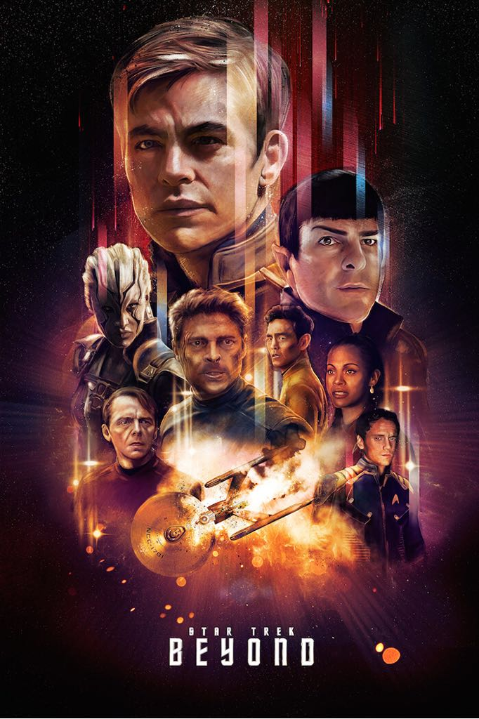 Star Trek: Beyond - Blu-ray cover