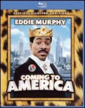 Coming to America - Blu-ray cover