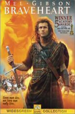 Braveheart - Laser Disc cover