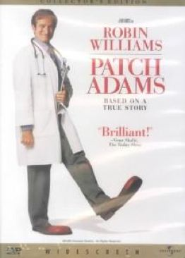 Patch Adams - VHS cover