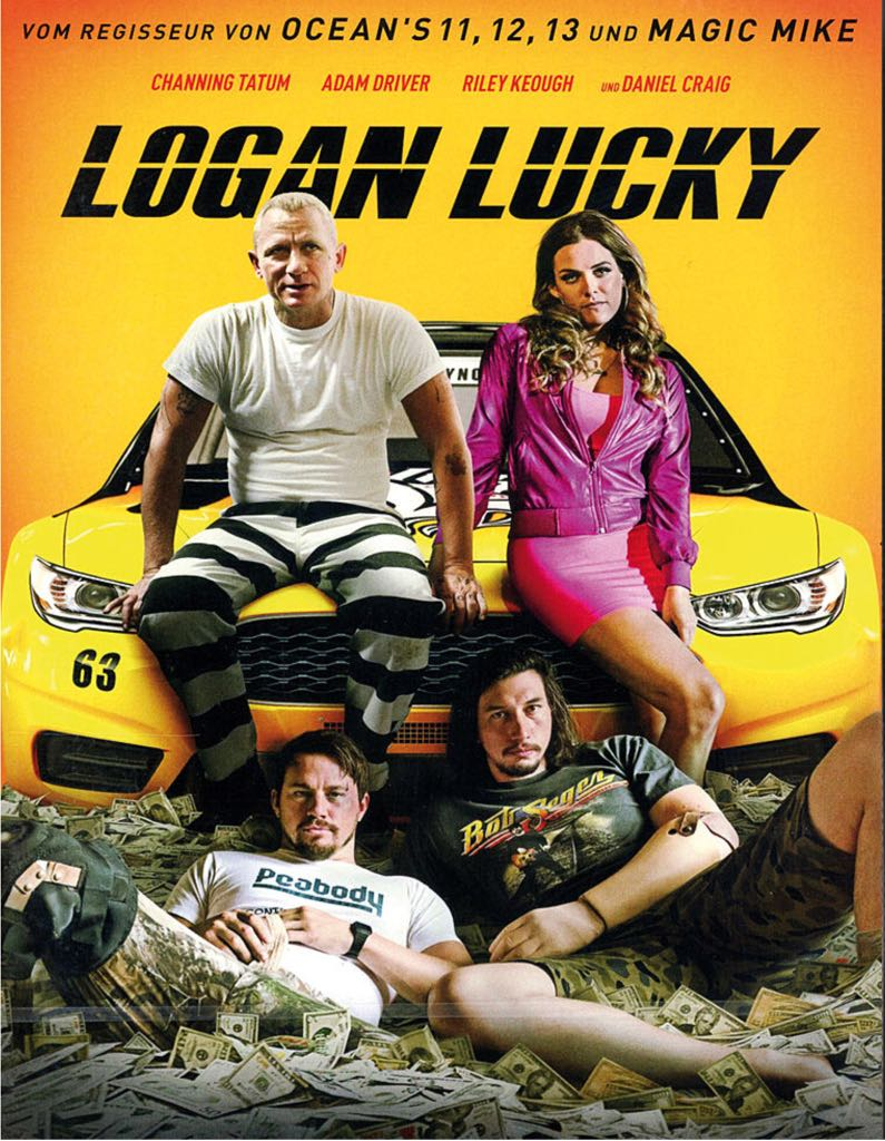 Logan Lucky -  cover