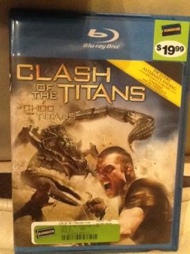 Clash of the Titans - Blu-ray cover