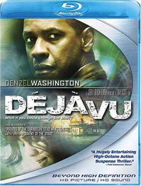 Deja Vu - Blu-ray cover