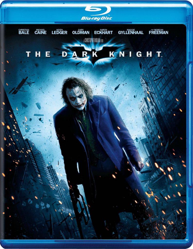 The Dark Knight - Blu-ray cover